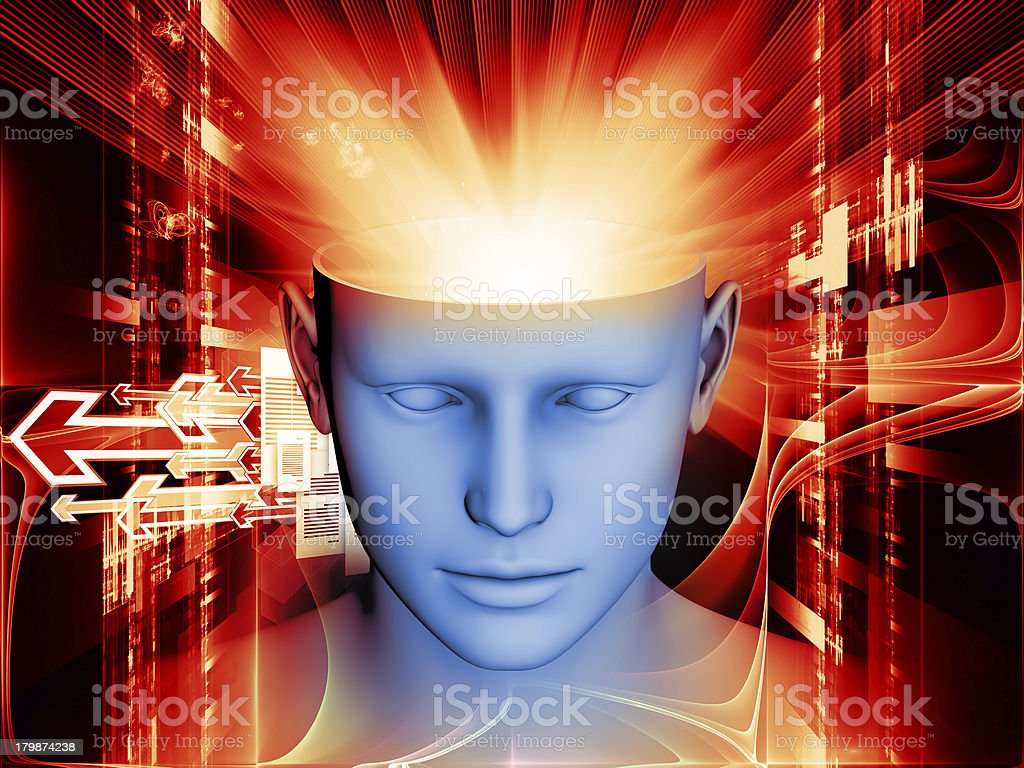 Mind Burst royalty-free stock photo
