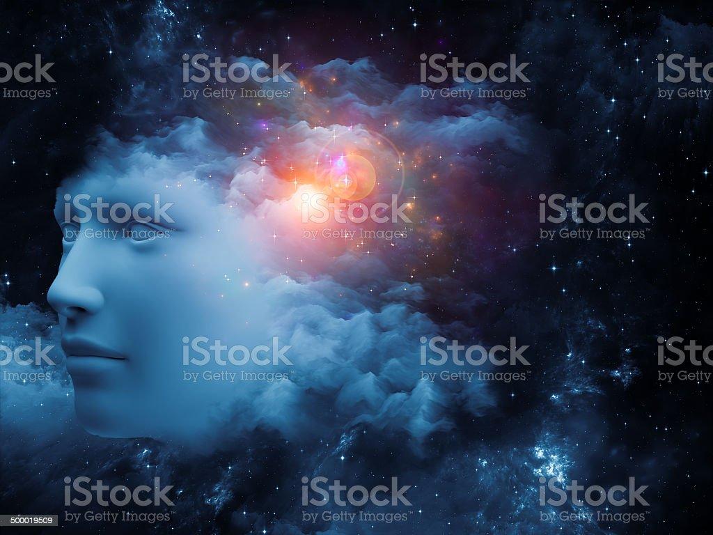 Mind Burst stock photo