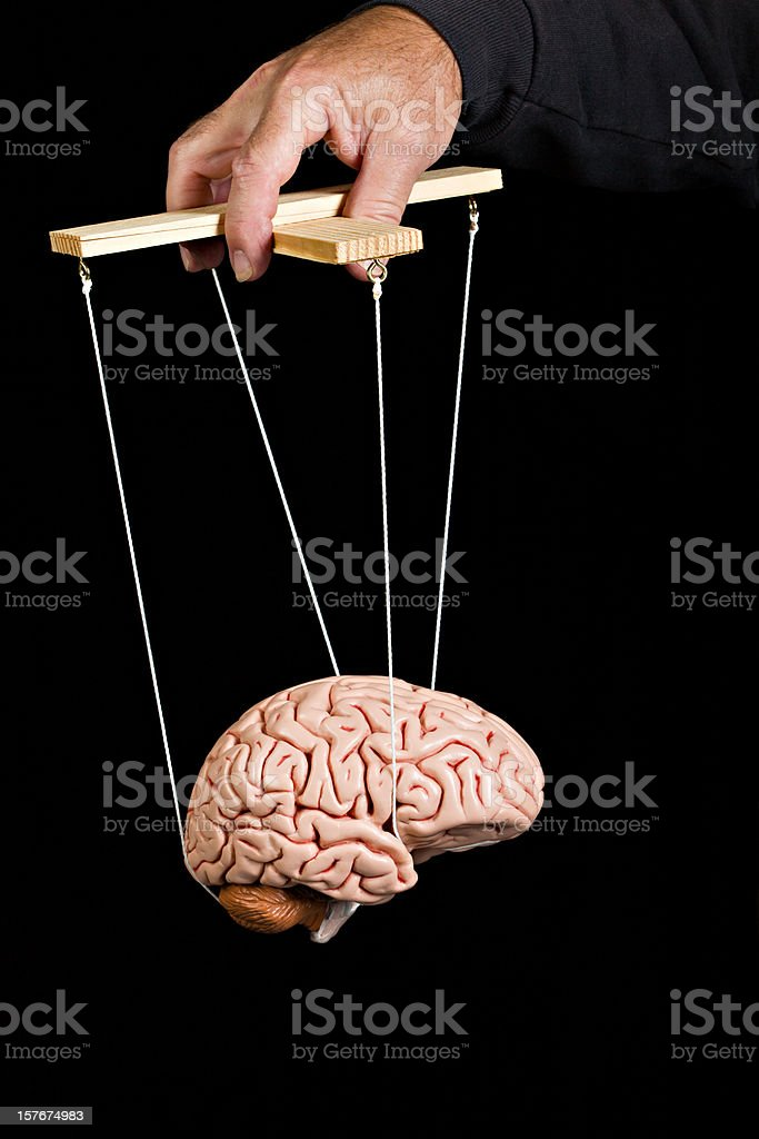 Mind Control. stock photo