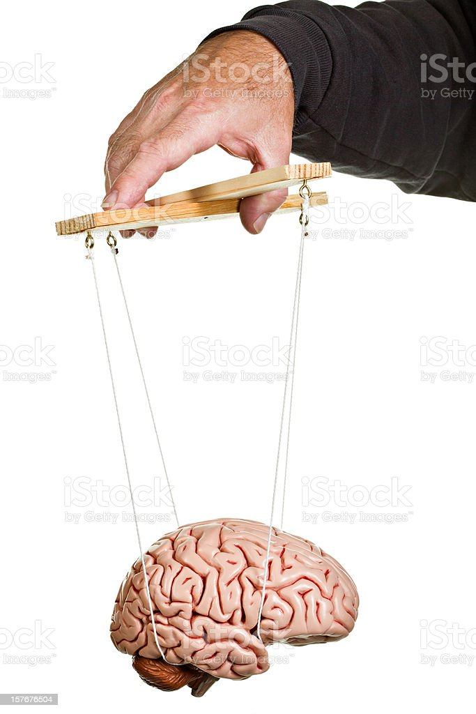 Mind Control. royalty-free stock photo