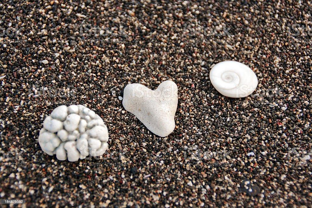 Mind, heart, soul stock photo