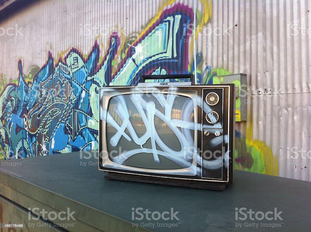 TV Mind stock photo