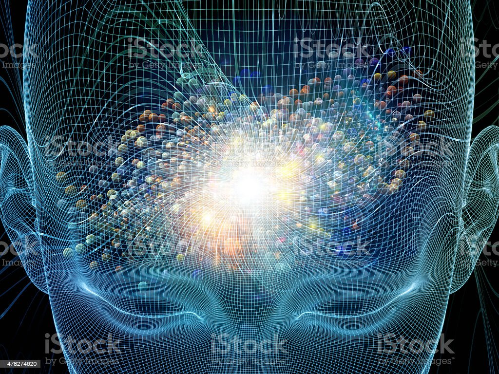Mind Stream stock photo