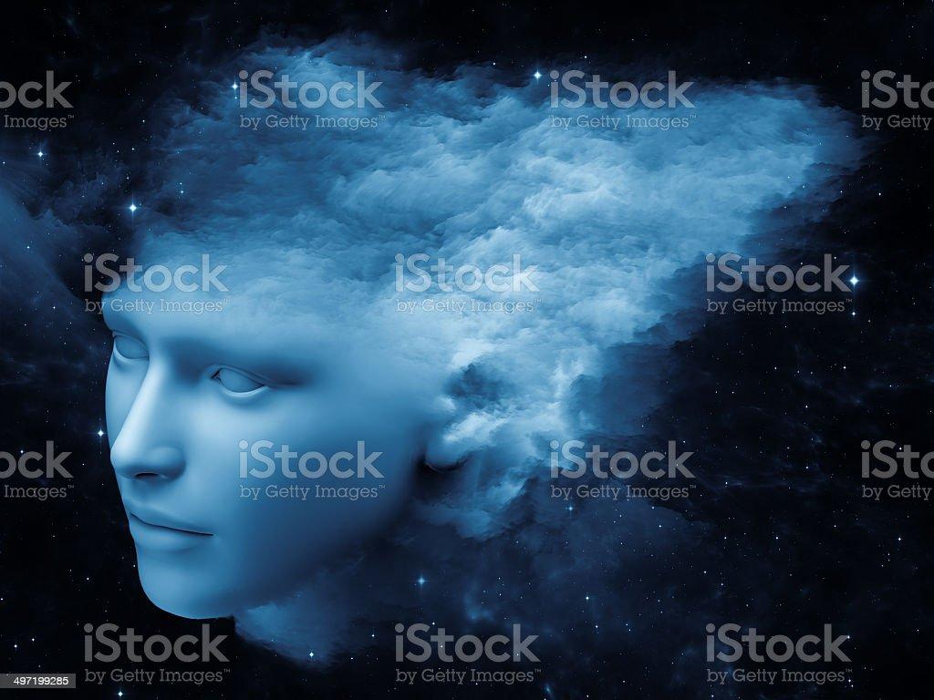 Mind Stream royalty-free stock photo