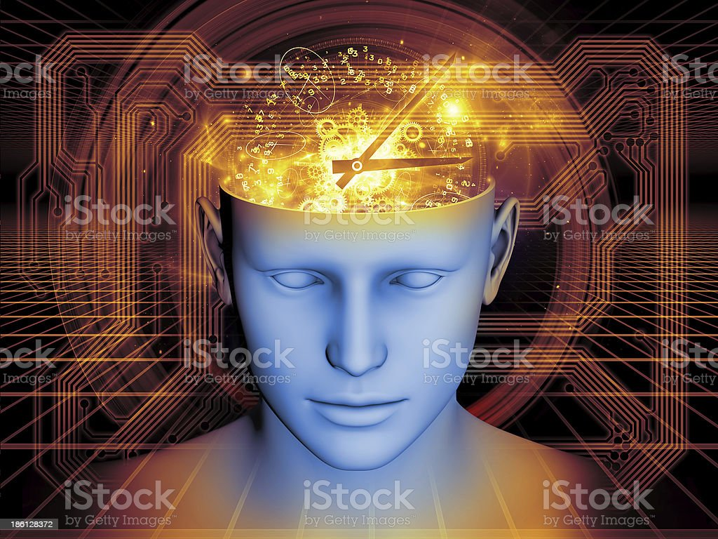 Mind Technologies royalty-free stock photo