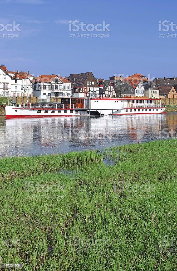 Minden,Weserbergland,Germany stock photo