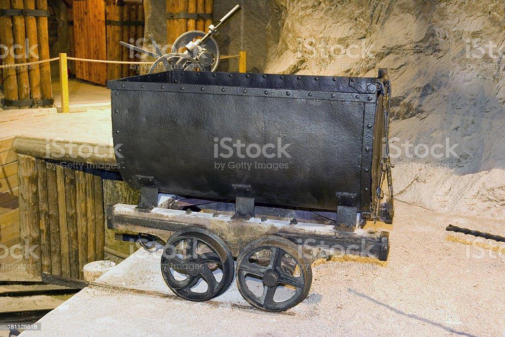 Mine Cart stock photo