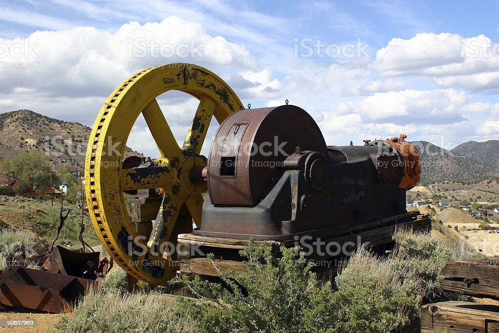 Mine Machinery stock photo