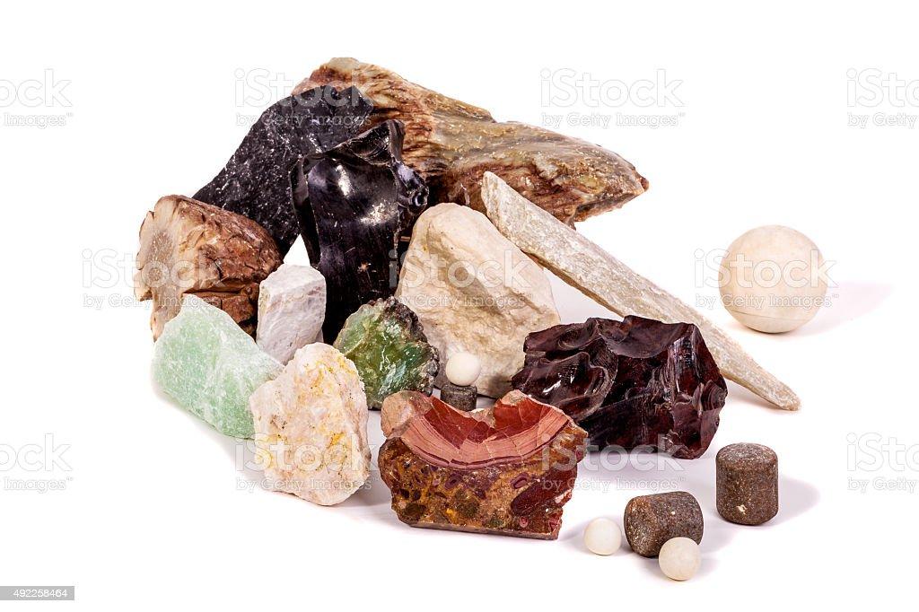 Mine Stones stock photo
