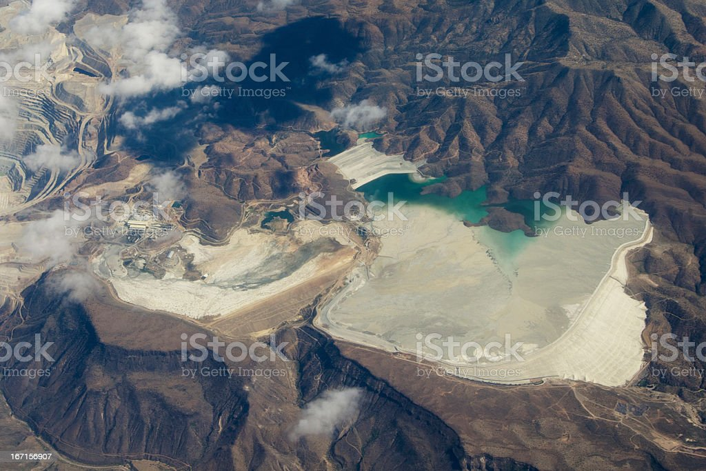 mine tailings royalty-free stock photo
