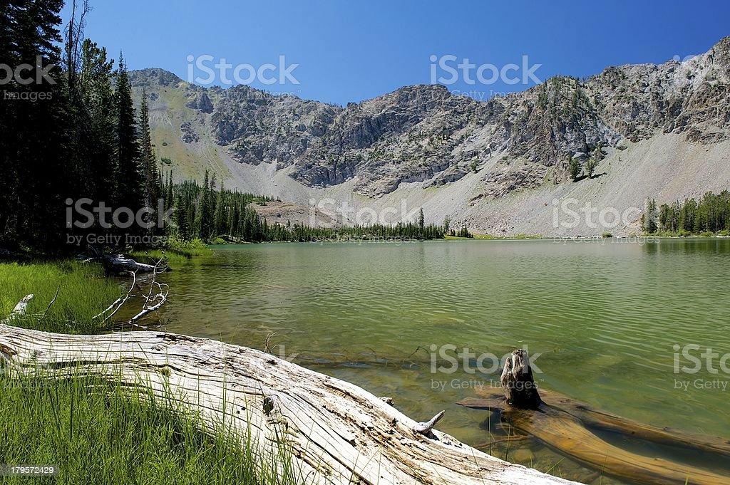 Miner Lake, Idaho stock photo