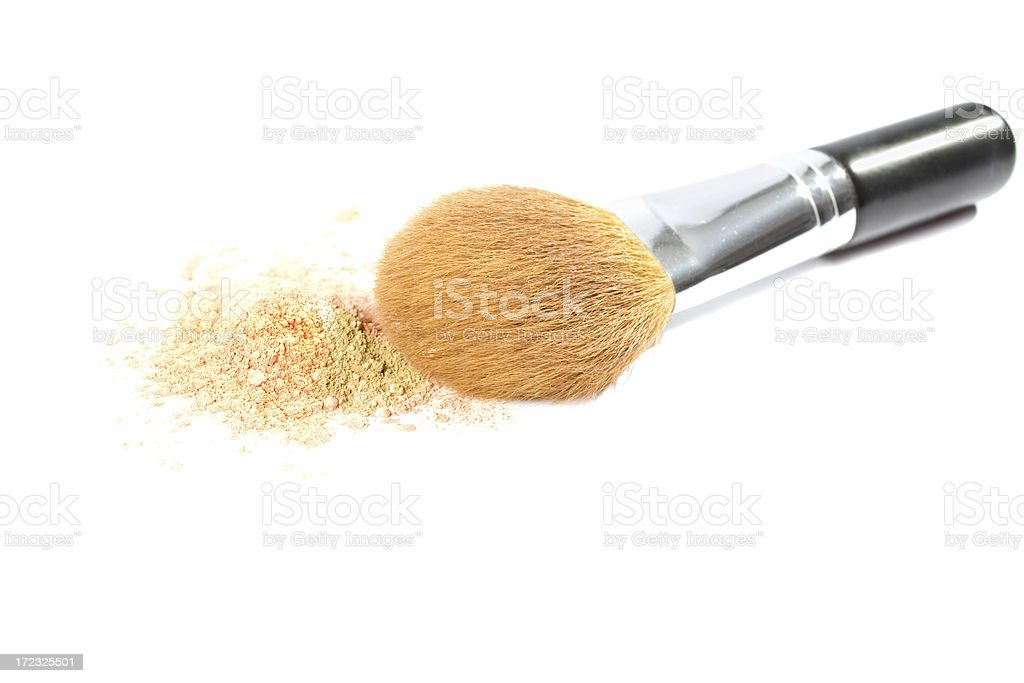 Mineral Brush royalty-free stock photo