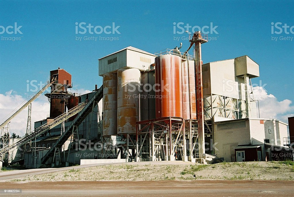 Mineral Industry royalty-free stock photo
