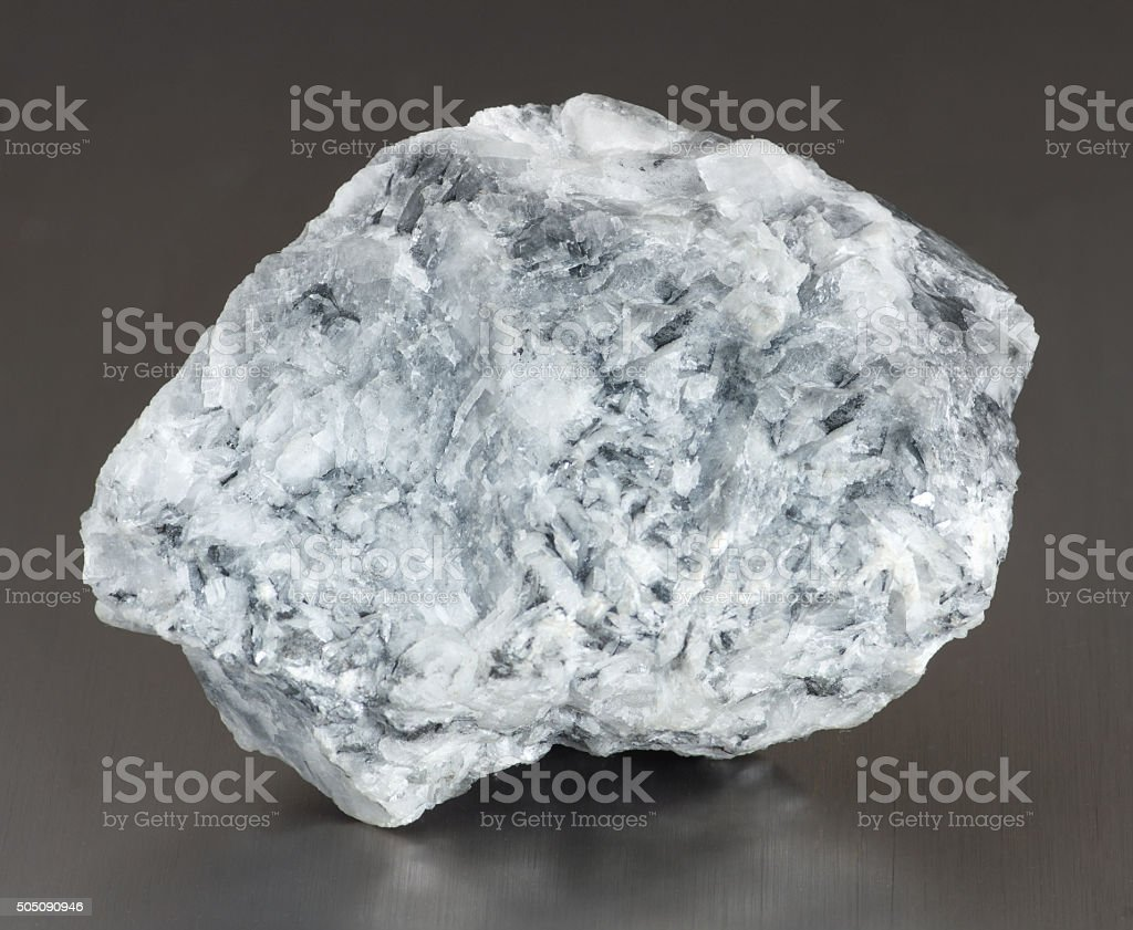 Mineral magnesite stock photo