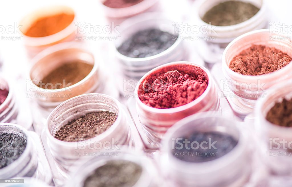 Mineral Makeup stock photo