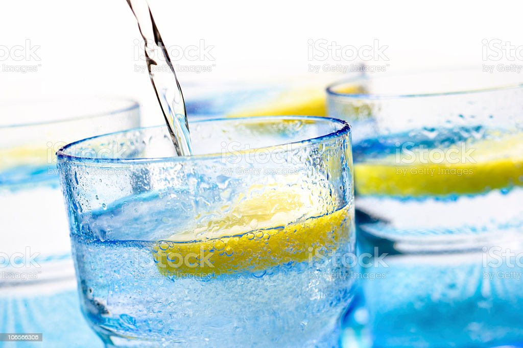 Mineral water royalty-free stock photo