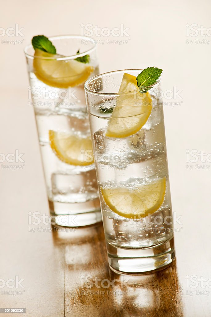 Mineral water stock photo