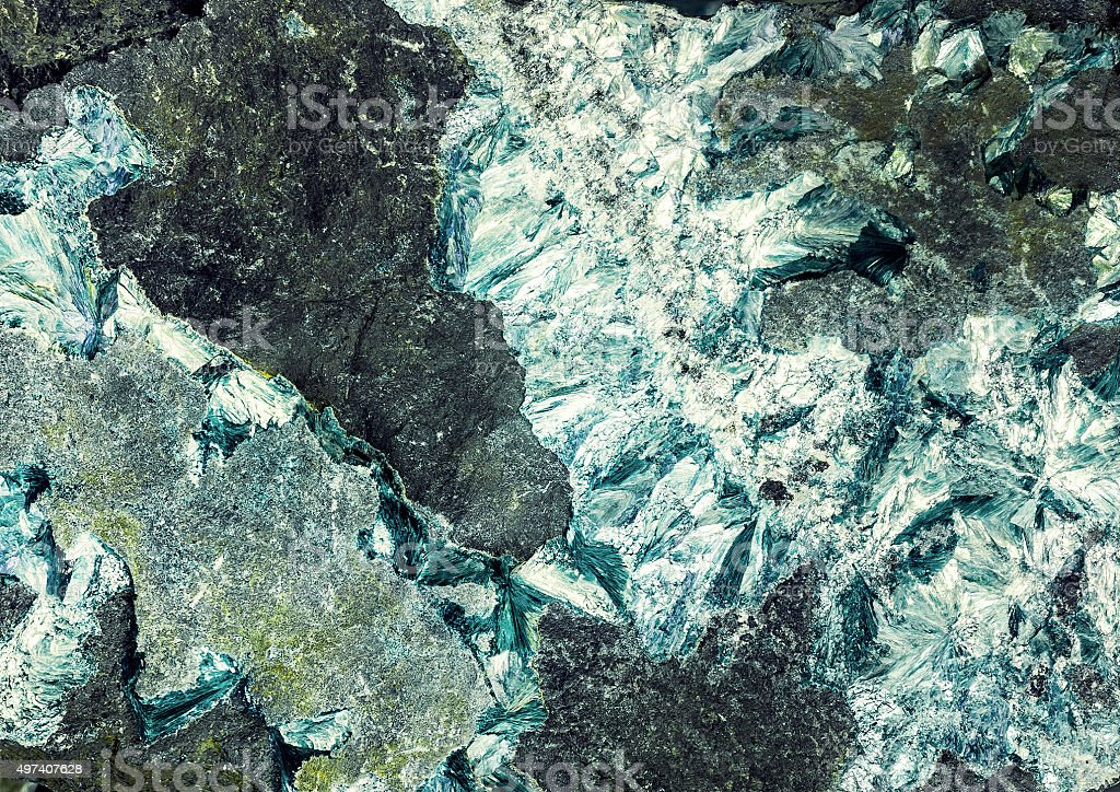 mineralization stock photo
