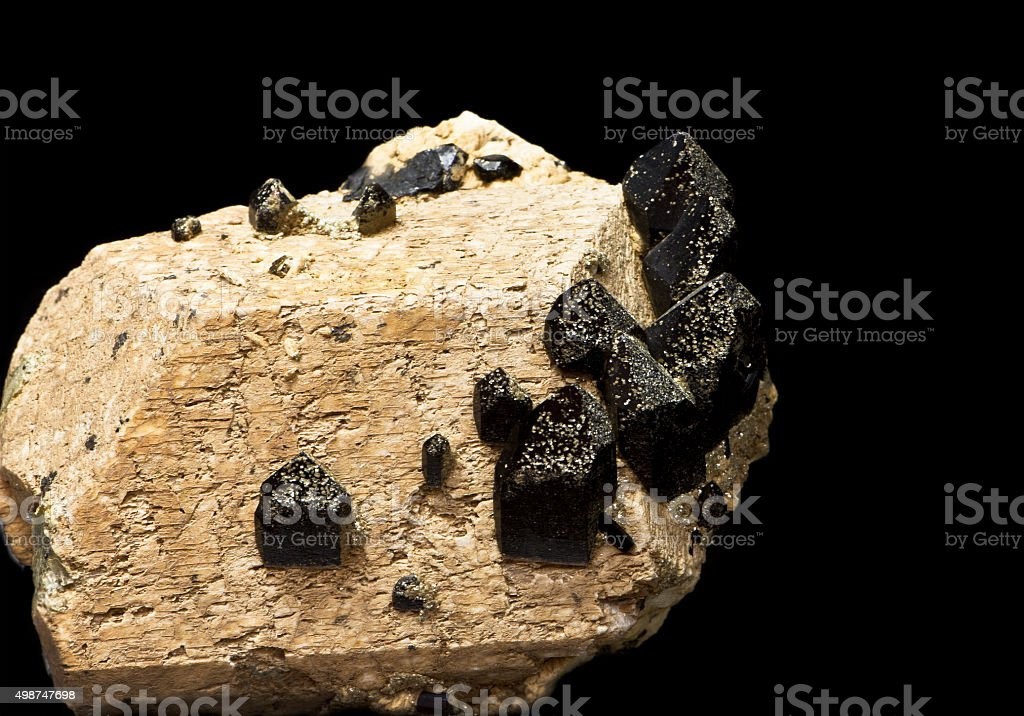 mineralogy stock photo