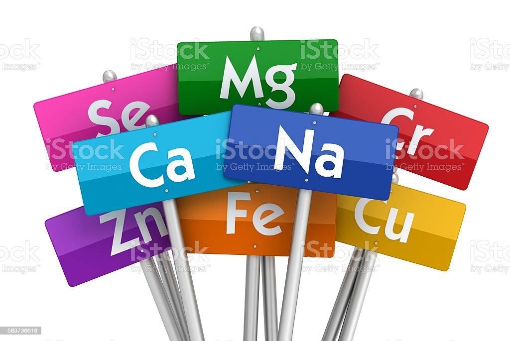 minerals stock photo