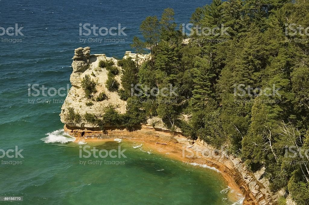 Miners Castle royalty-free stock photo