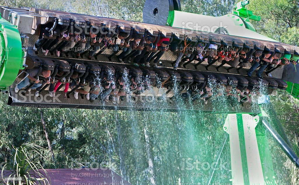 Miners Revenge ride at Gold Reef City royalty-free stock photo