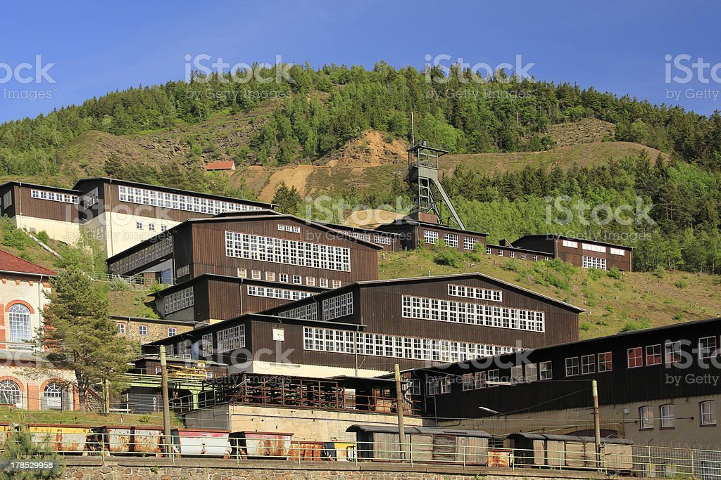 Mines of Rammelsberg, Germany royalty-free stock photo