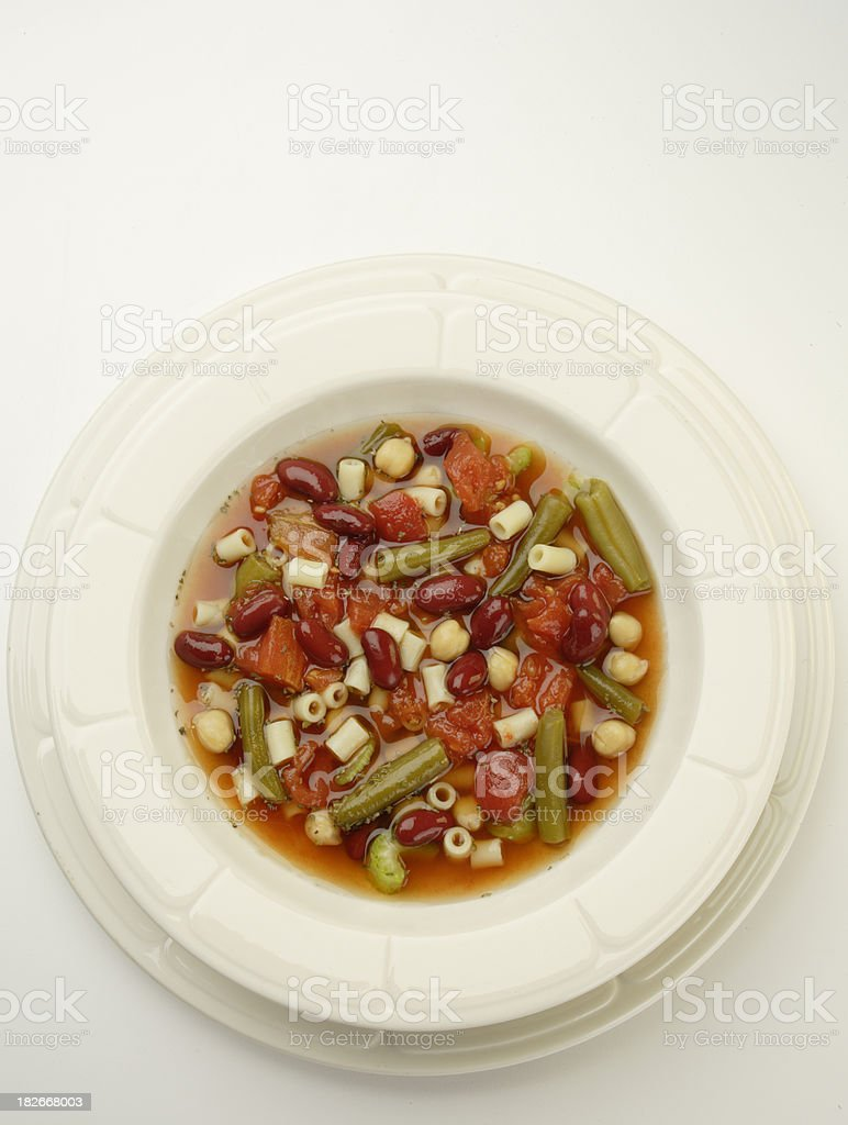 Minetrone Soup stock photo
