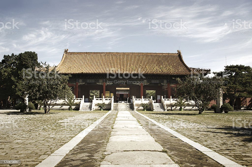 Ming Tombs royalty-free stock photo