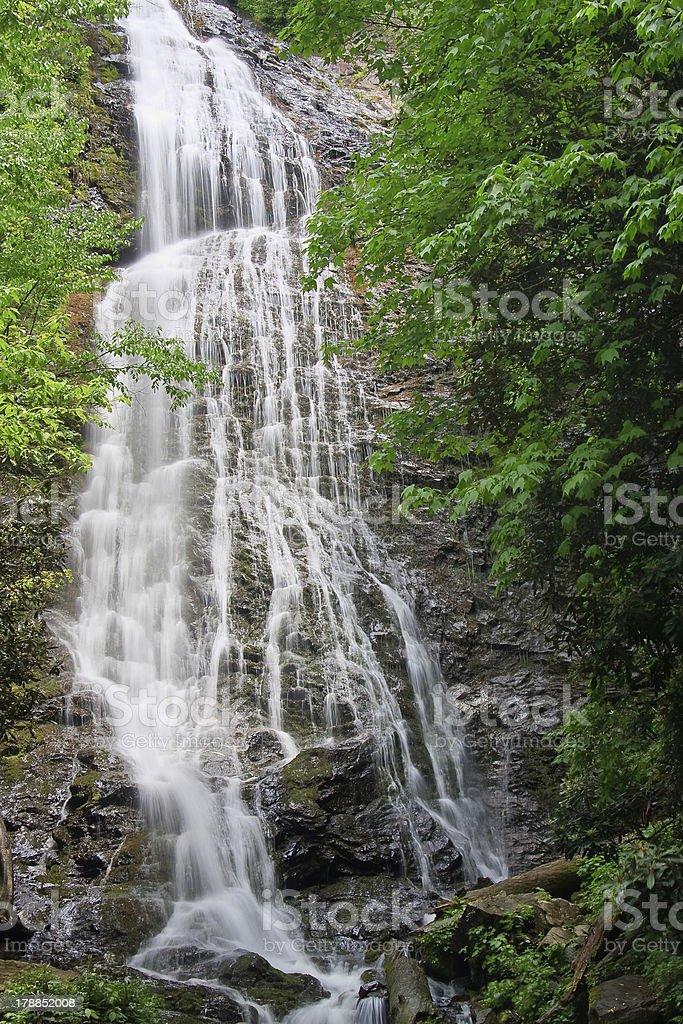 Mingo Falls royalty-free stock photo