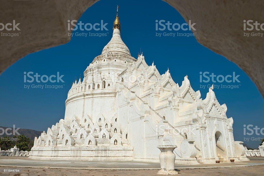 Mingun, Myanmar stock photo