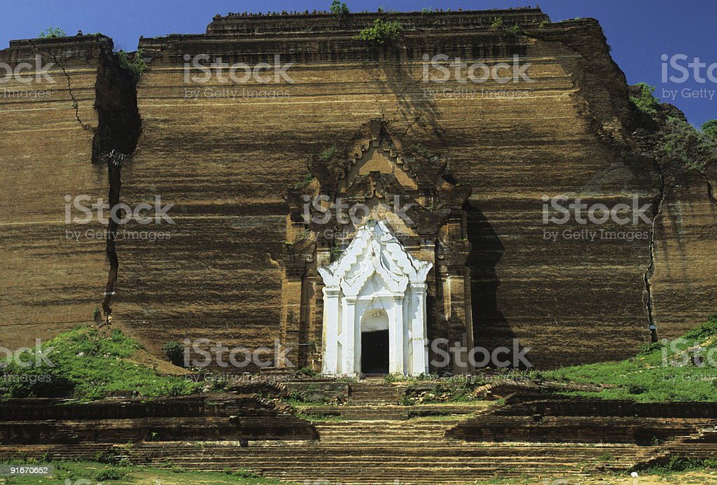 Mingun Paya, Myanmar (Burma) stock photo