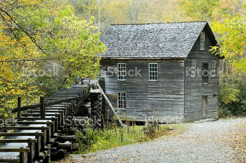 Mingus Mill Smoky Mountains royalty-free stock photo