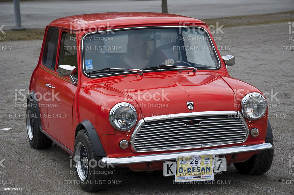 Mini 1000 from 1978 royalty-free stock photo