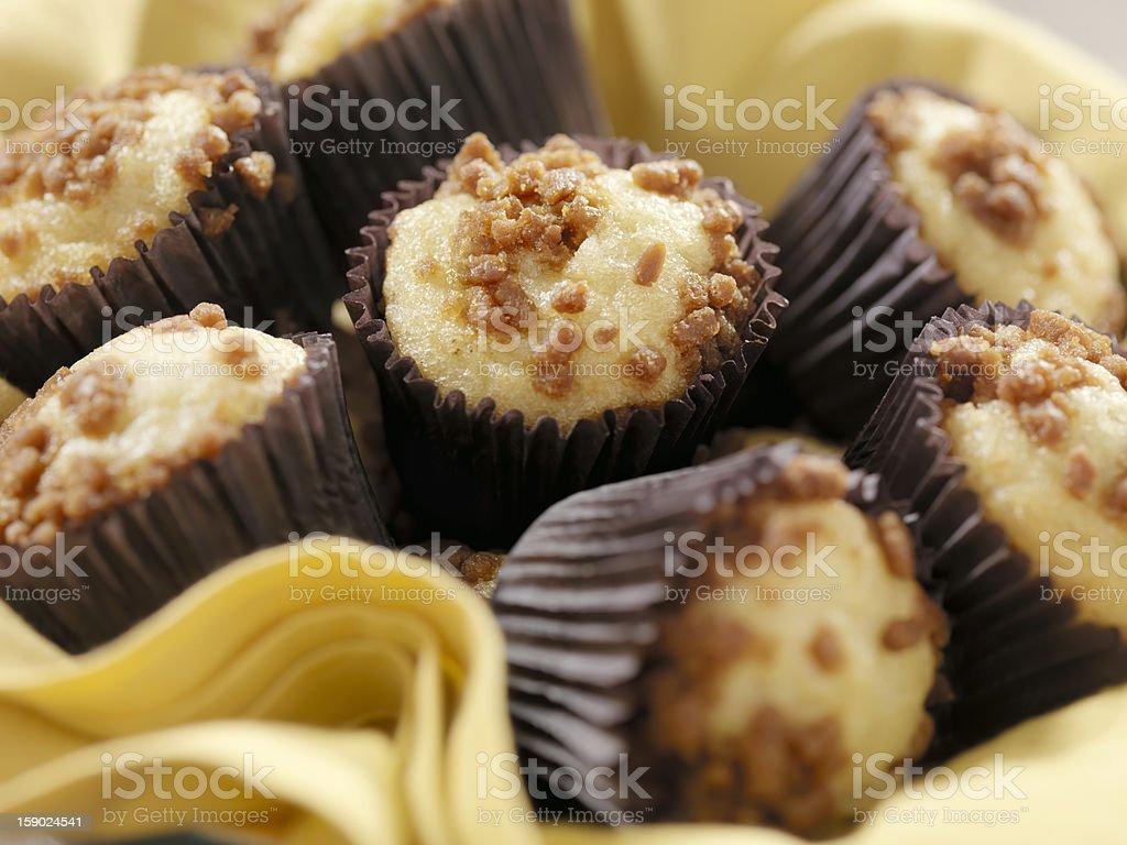 Mini Apple Cinnamon Muffins royalty-free stock photo