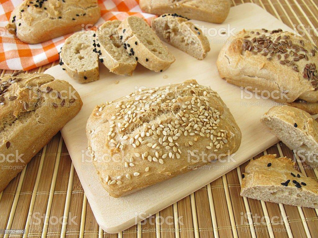 Mini Breads stock photo