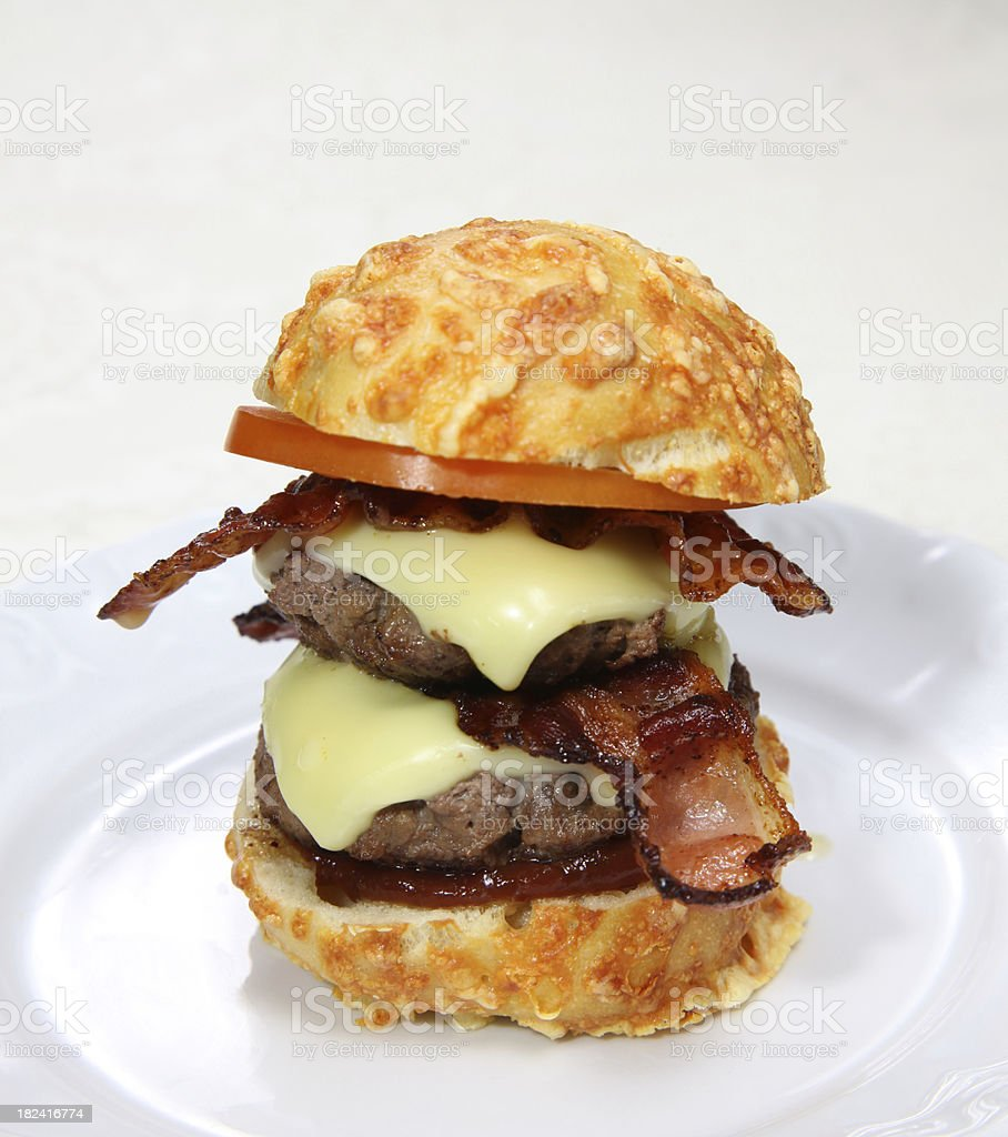 Mini Burger stock photo