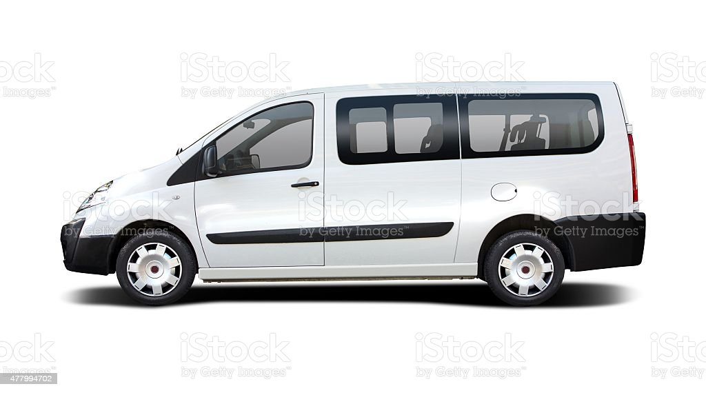 Mini bus stock photo