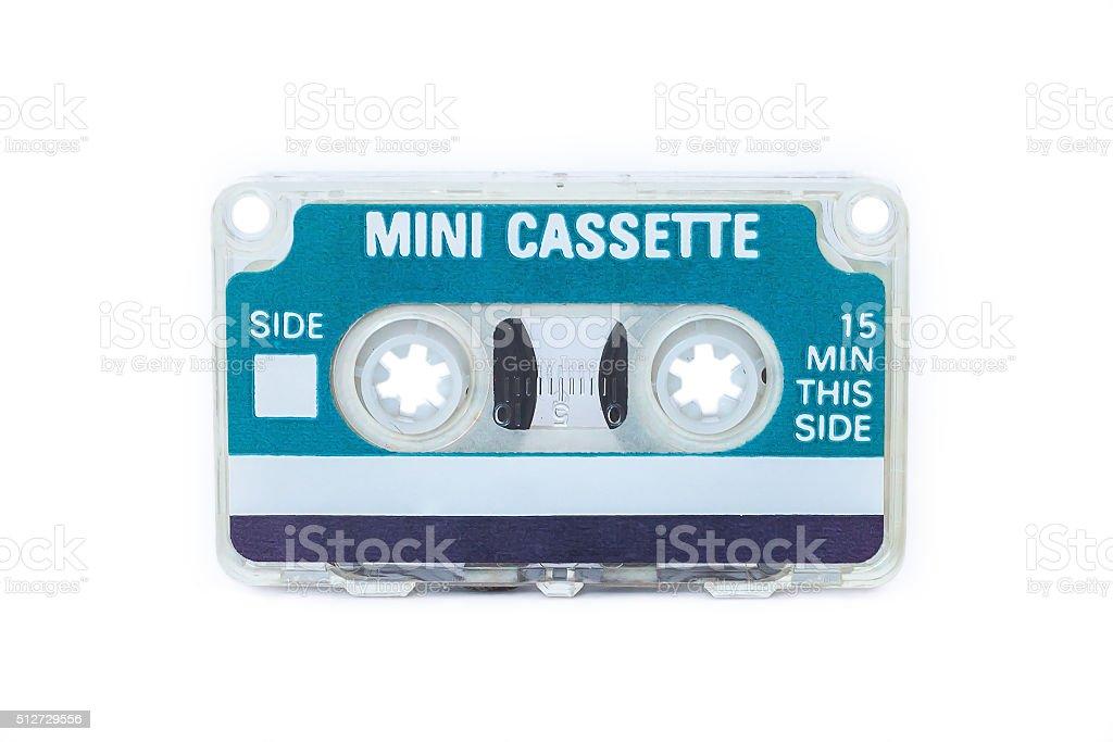 Mini Cassette stock photo
