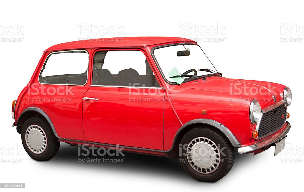 Mini Cooper 60's stock photo
