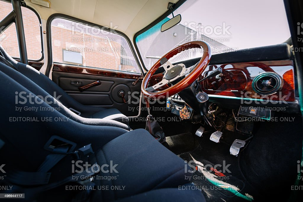 Mini Cooper Classic stock photo