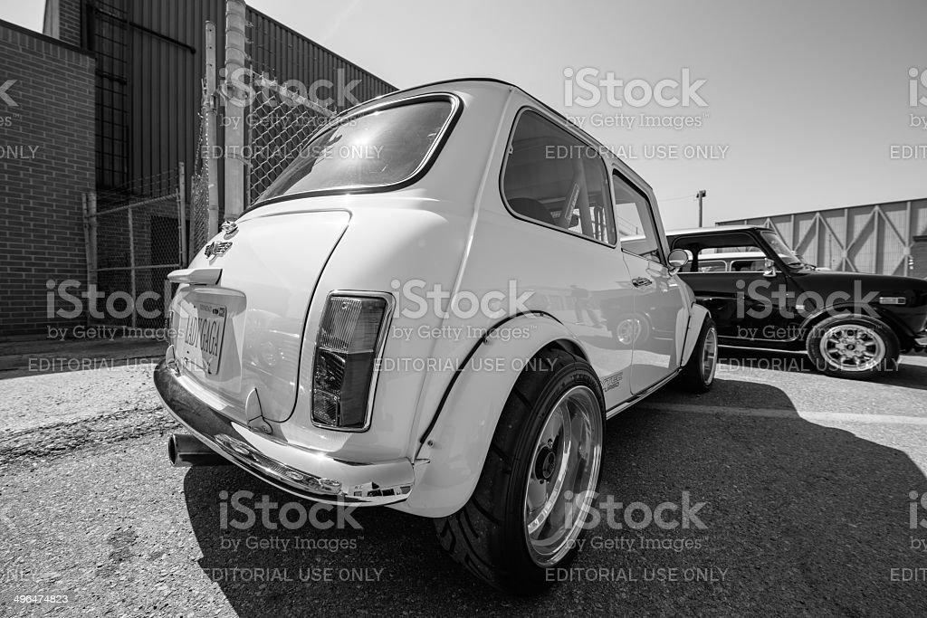 Mini Cooper Classics royalty-free stock photo