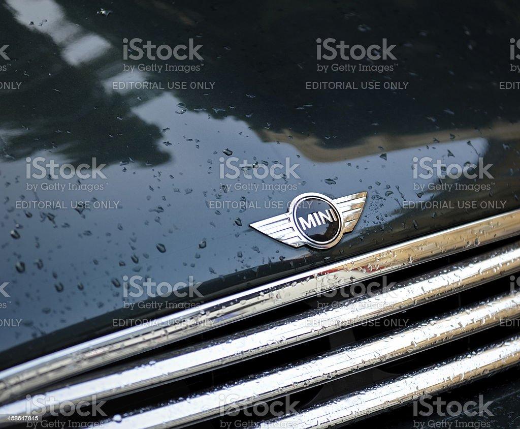 Mini Cooper Logo stock photo