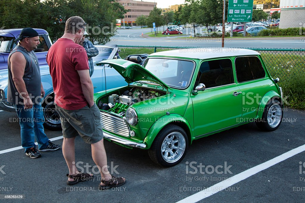 Mini Cooper royalty-free stock photo