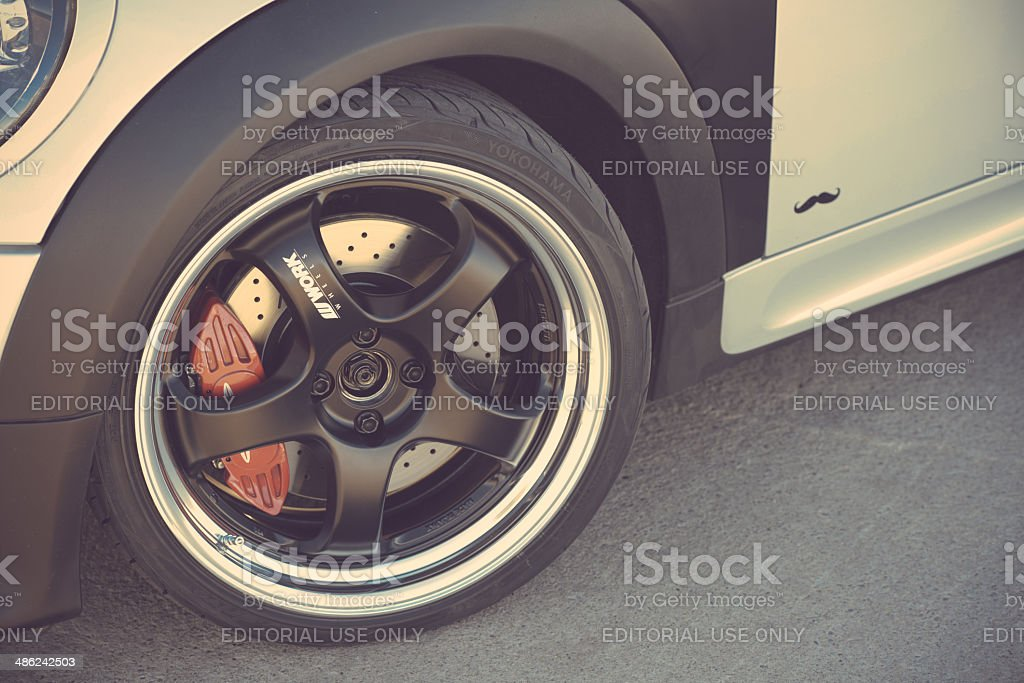 Mini Cooper S Clubman stock photo