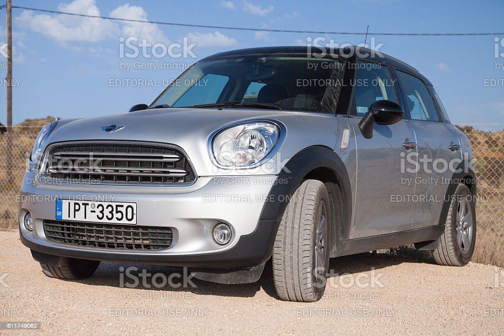 Mini Countryman subcompact crossover car stock photo