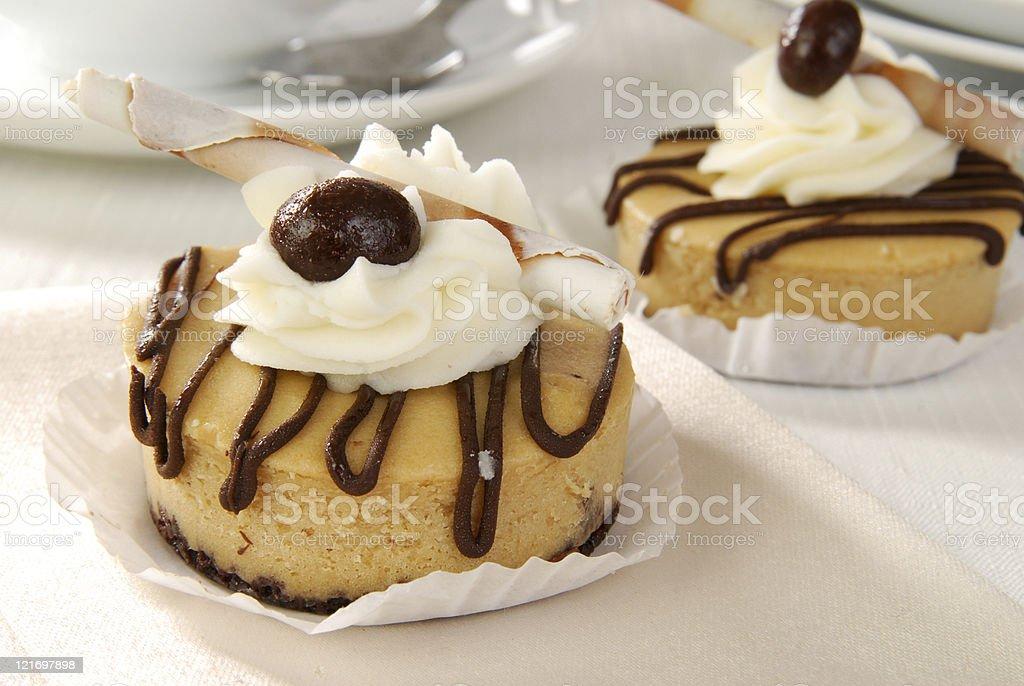 Mini Dessert Tart stock photo
