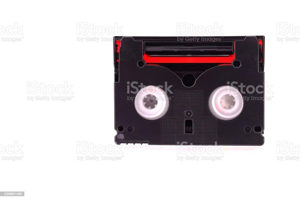 Mini Digital Video or DV Cassette stock photo