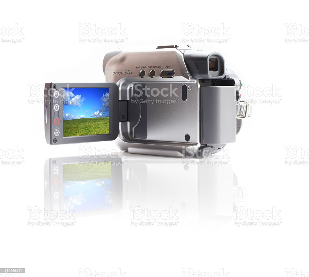 Mini DV cam stock photo