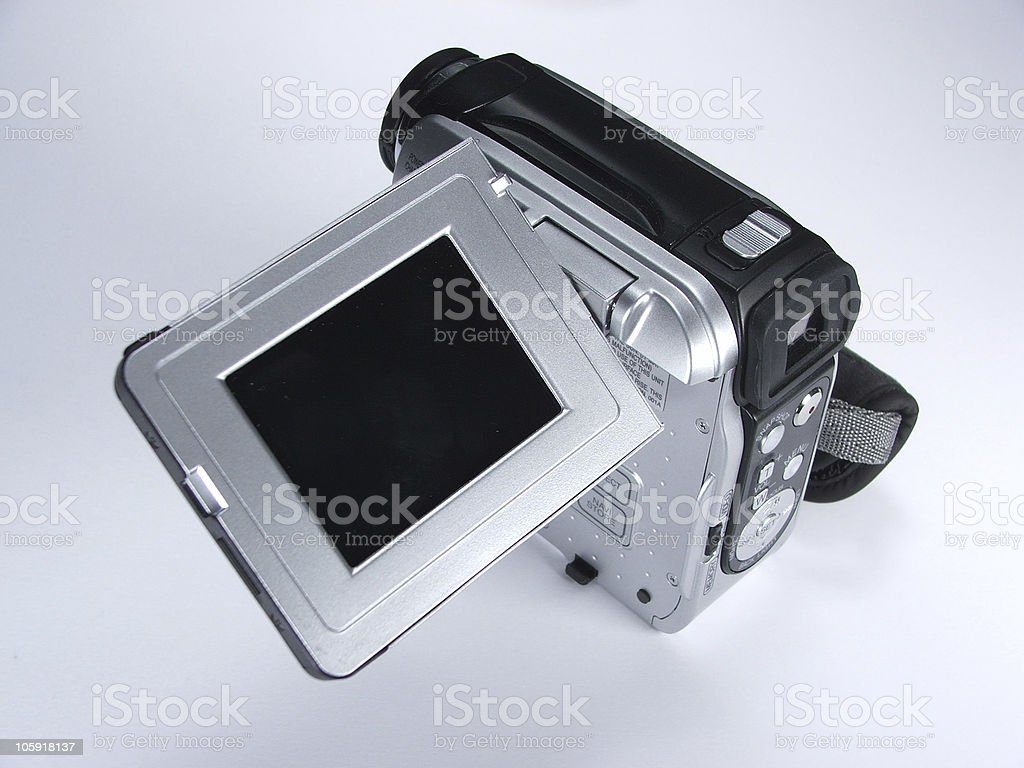 Mini DV Camcorder royalty-free stock photo